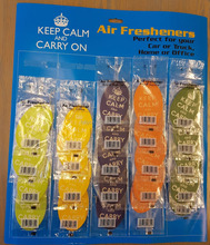 10 Pcs/Pack Hanging Car Air Freshener fragrance mixed Hanging Paper Car Air Freshener for Car, Home & Boat