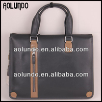 Hot selling wholesale leather office bags for men fashion briefcase laptop bags