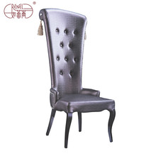 aluminium frame banquet high back throne chair