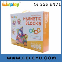 56pcs magnetic toy blocks environmental toys top factory