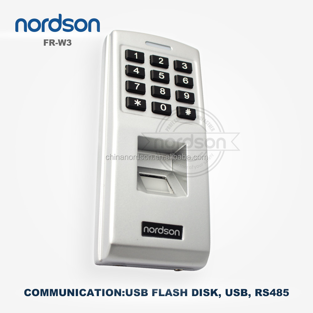 New style! standalone fingerprint access control keypad ( FR-W3 )