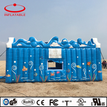 advertising inflatable beach house tent / inflatable party tent / inflatable outdoor event tent