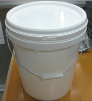 20liter plastic pails buckets for paint