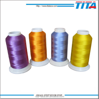 Reflective thread for embroidery 100% polyester 5000meters