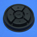 Custom silicone rubber button pad