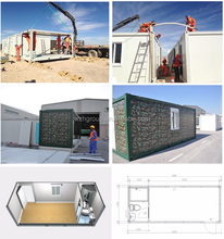 Container House Military Camp Army Container House