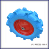 high quality PU wheelbarrow solid tyre wheel