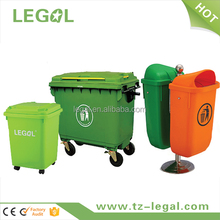 trash can handle 660l large plastic recycle bin container with wheels