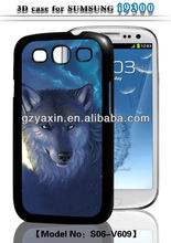 sublimation 3d cases,3d cases for samsung s3 case/accept small mix order