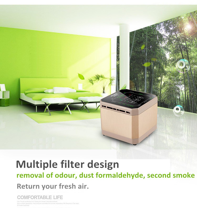 Anion HEPA Air Purifier with factory price, personal mini Air Purifier