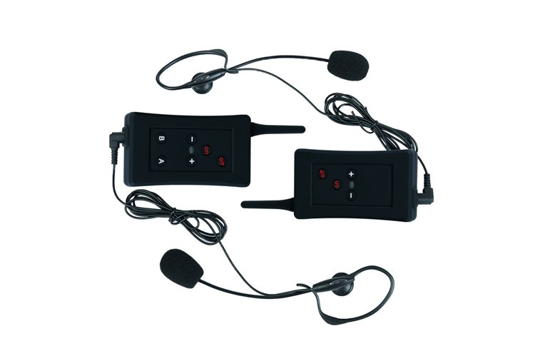 2016 hot selliing FBIM soccer referee radio communication bluetooth headset interphone system for both ears