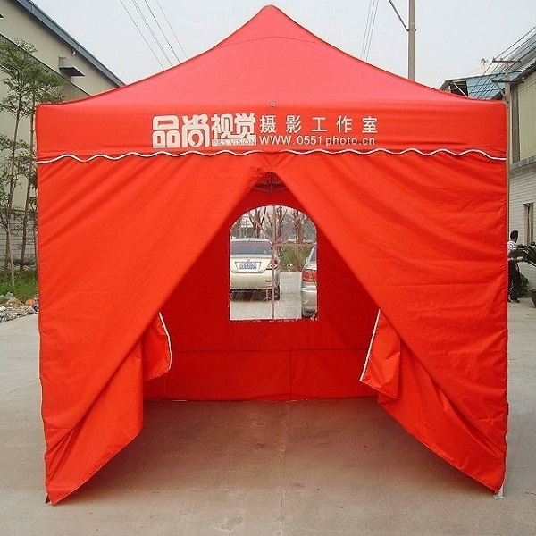 Shaoxin Canopy Commercial 10x10 Ez Pop up Party Fair Gazebo with Zipped End Sidewalls