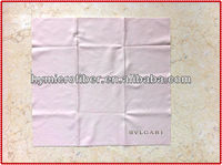 2014 Super soft lint free logo printed microfiber lens cleaning cloth