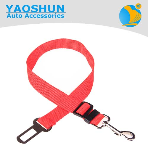 Adjustable Strap Buckle From <strong>13</strong> To 23 Inches Safety Dog Harness Leash Vehicle Pet Car Seat Belts