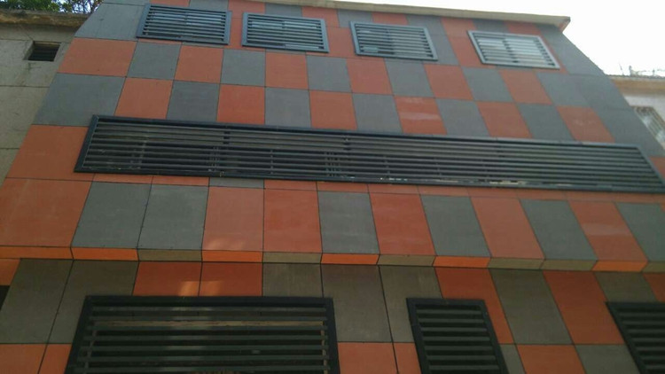 Fibre Cement Board Cladding : Through coloured fiber cement board exterior cladding