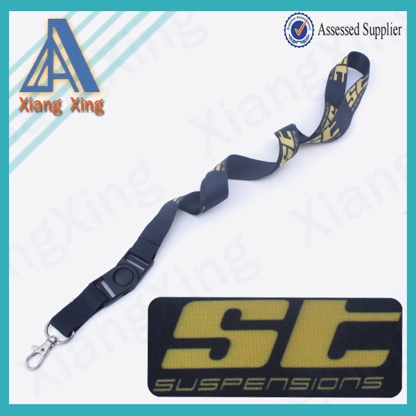 Sedex Audit YiWu pioneer smooth fabric cheap cute lanyards for fair
