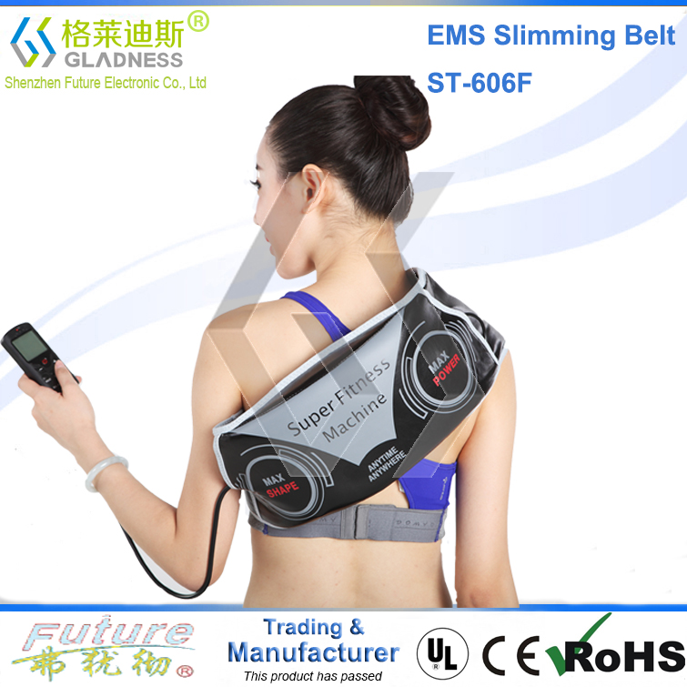 Abdominal Belt With Two Functions As Vibration Slimming And EMS belly slimming without belts no side effects slim fast belt