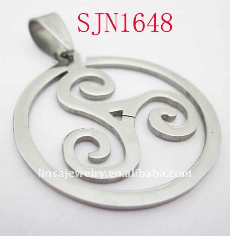 fashion sunshine women wedding stainless steel pendant