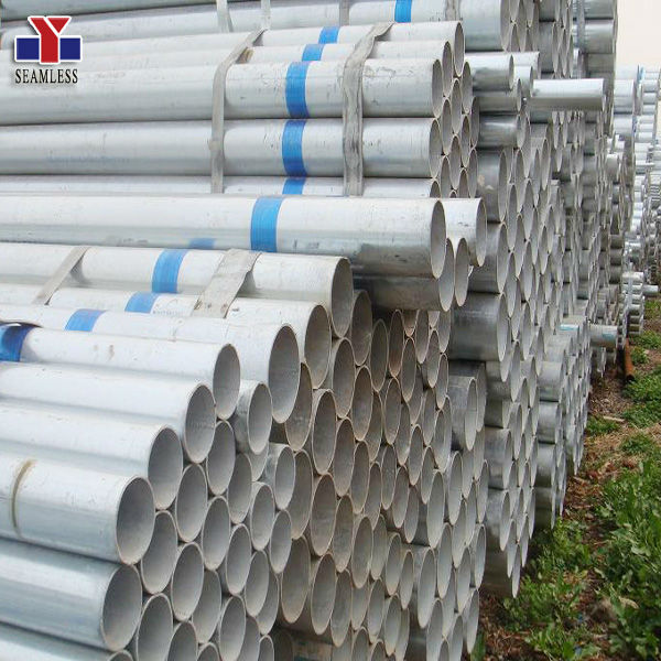 large diameter galvanized welded steel pipe made in China