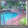 Aluminium Glass Pool Fencing With High
