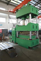 200Ton eight culumn six cylinder, sheet metal forming, deep drawing hydraulic press, door embossing machine