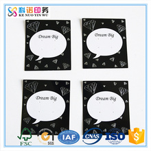 Customized Design Jewelry Paper Earrings Cards