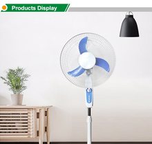factory popular design high quality portable solar powered energy 12 volt dc stand fan