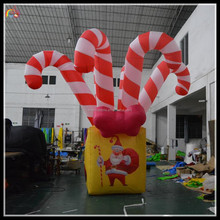manufacture inflatable christmas gift , inflatable christmas stocking , inflatable christmas decorate