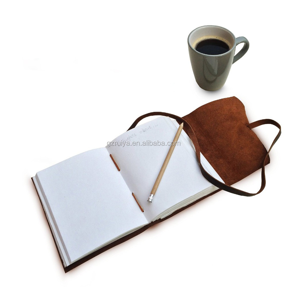 Leather Journal Writing Notebook Antique Handmade Leather Bound Daily Notepad For Men & Women Travel Diary & Notebooks