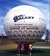 Golf ball replica, giant inflatable advertising balloons S2068