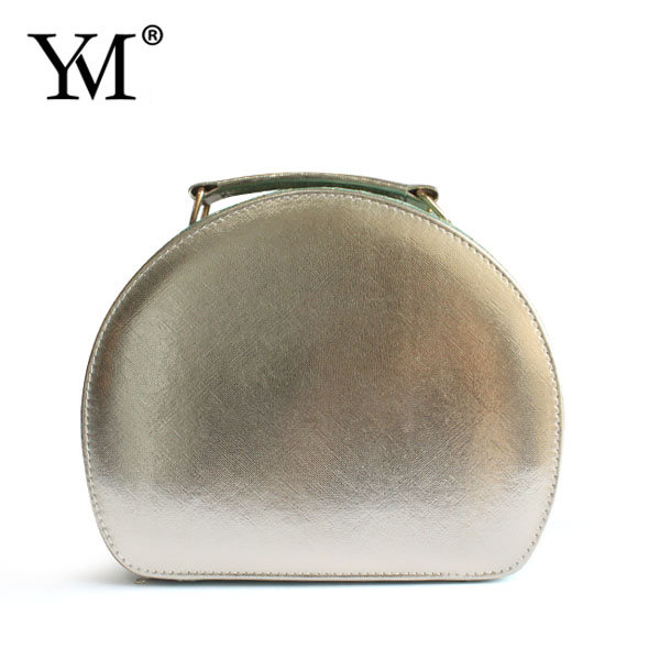 portable pu leather makeup case with lighted mirror cosmetic box
