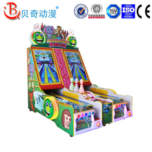 indoor shooting arcade video cricket bowling game machine