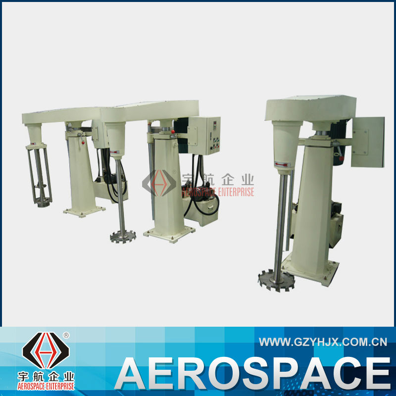 YH Hydraulic Lifting High Shear Dispersion Homogenizing Machine For Painting