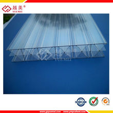 10mm Bayer material PC/polycarbonate triple wall plastic sheets