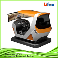 3 Screens Arcade Racing Car Game Machine 4D Simulator Dynamic Racing