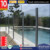 Moderm design glass pool fencing
