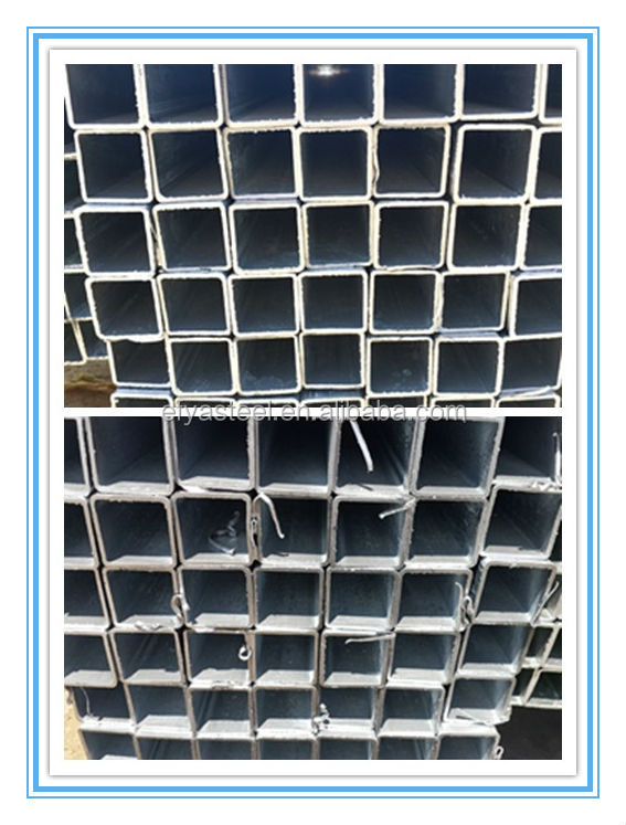 Cheapest Carbon Big Hot Dip Galvanized Rectangular Steel Pipe Sizes