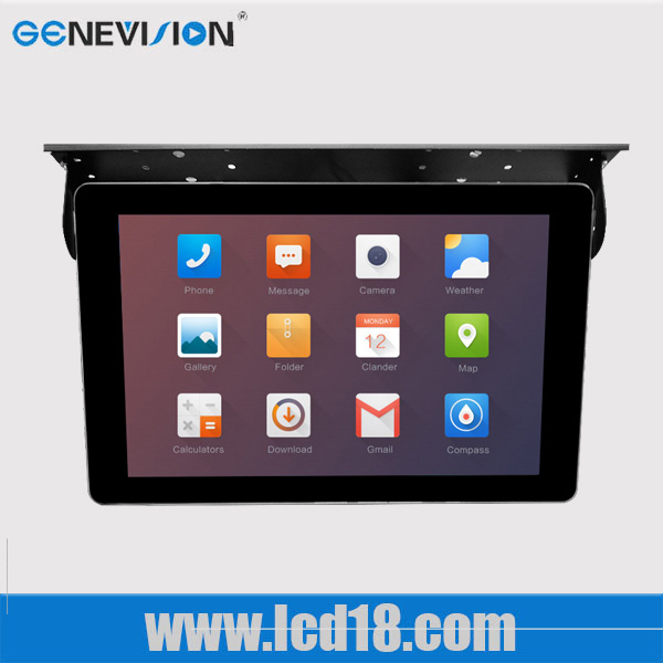22 inch mobilea advertising display public transport coach bus media ad equipment full hd MP4 player