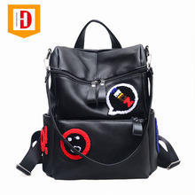 High Quality Daily Life Fashion Leisure PU Leather Backpack For Girls