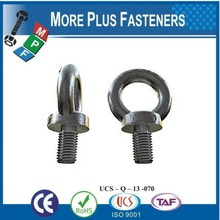 Made in Taiwan DIN 580 Collared Eye Bolts Lifting Eye Bolt Lifting Rings