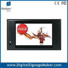 "Bus/Taxi/Car used 7"" 10"" inch wide screen lcd advertising player/monitor/ digital signage/screens"