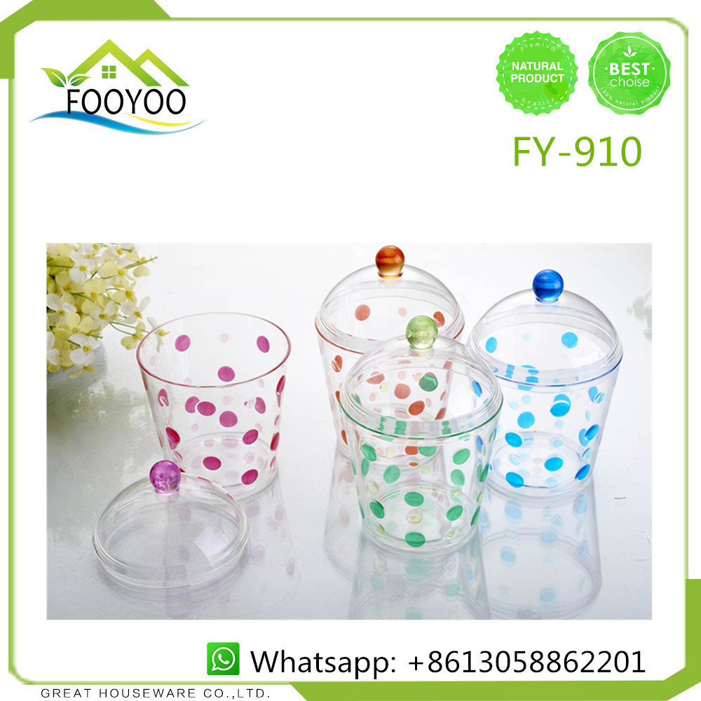FOOYOO FY-910 insulated water bottle novelty plastic drink cup