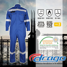 Drago function anti fire safety clothing coverall