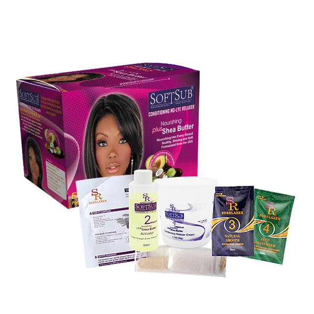 Wholesale Olive Oil Hair Straightener Cream Hair Relaxer Cream