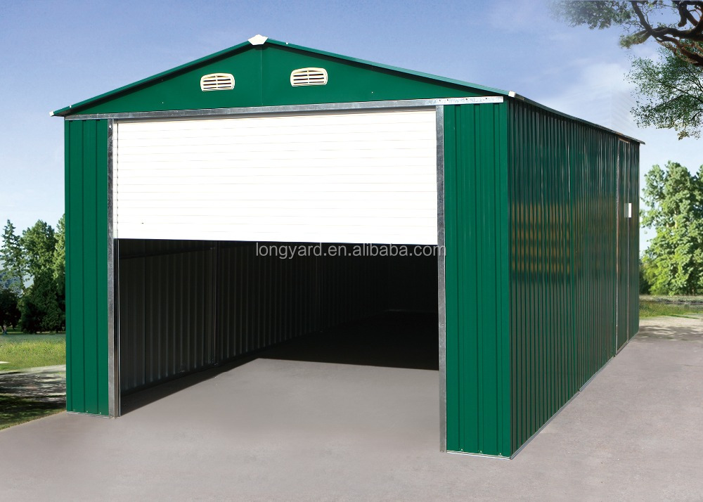 Home Made Portable Car Garage : Buy portable diy carport metal car canopy door