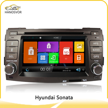 HANOSVOR Factory Directly Sale Double Din Car DVD Player for Hyundai Sonata