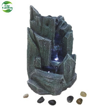 Artificial Resin Rockery Waterfall Landscaping Small Garden Design Fountain