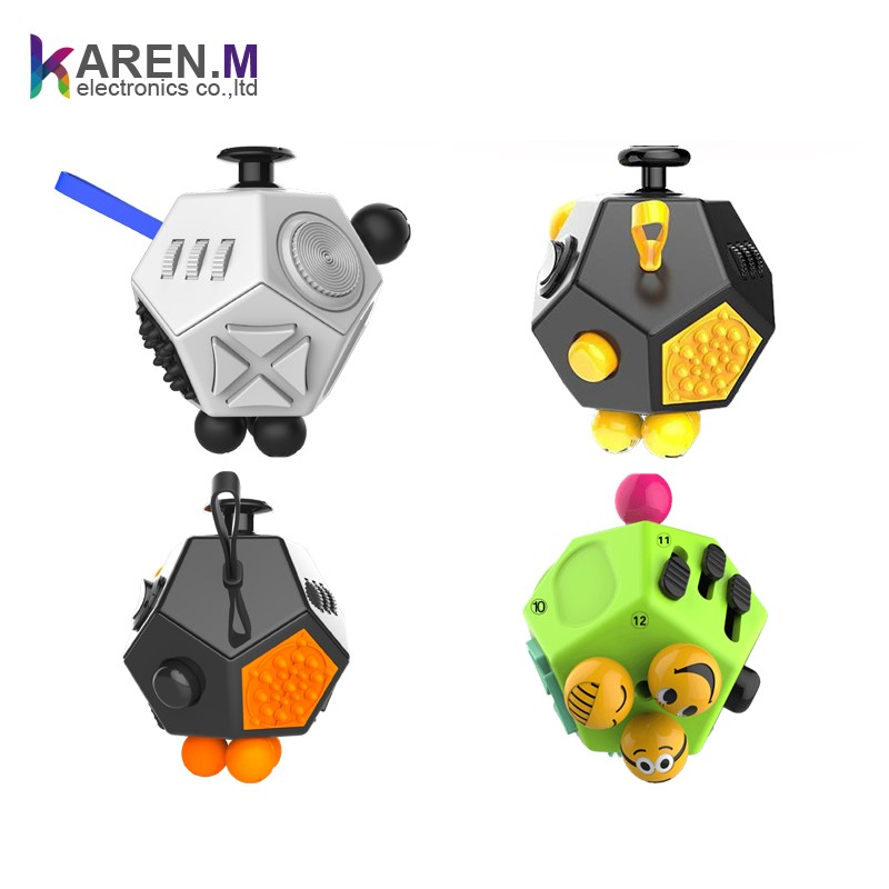 2017 New Design Desk Toys Fidget Cube Relieves Stress Anxiety for Children and Adult Toy