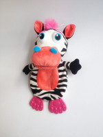 High quality and eco-friendly plush toys of zebra and lion