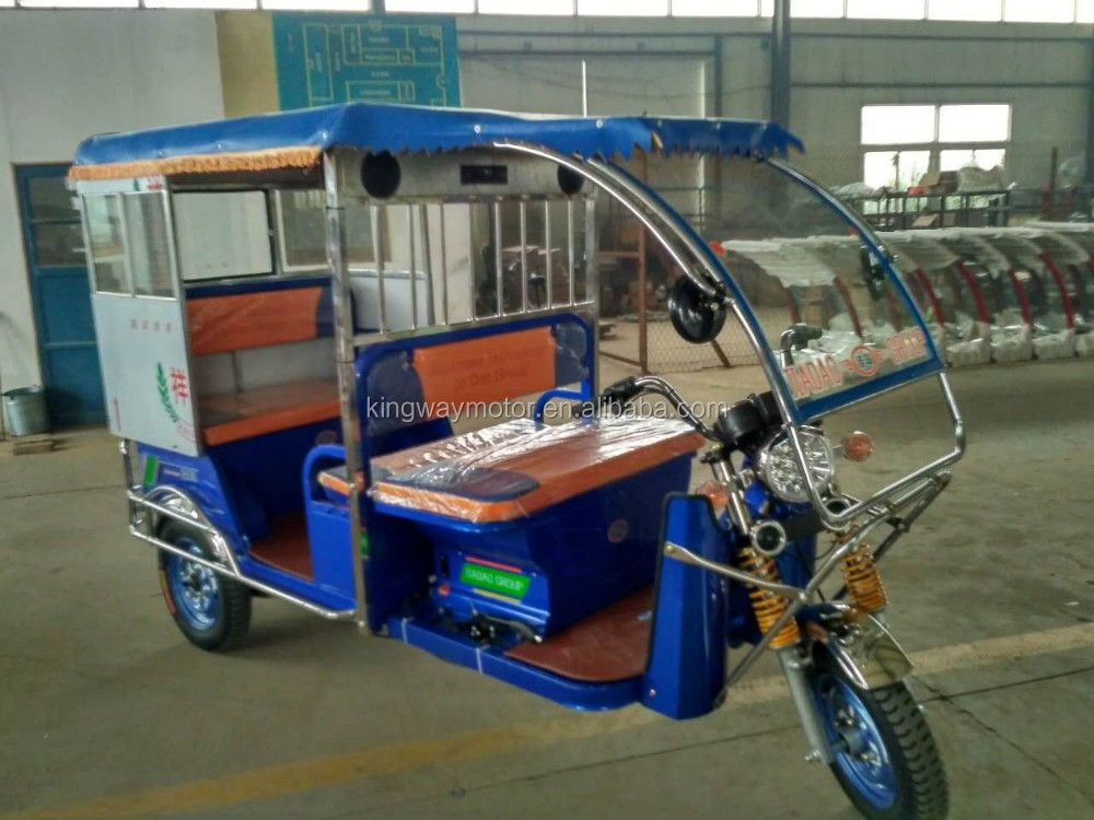 2016 China New Product Electric Passenger Tricycle for Taxi In Bangladesh
